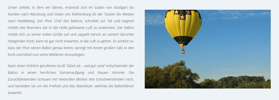 Preiswert Ballon fahren